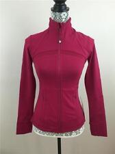 New Lululemon Define Jacket *Shine On berry rumble sz 4