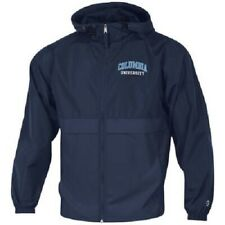 NWT Columbia University Men's Blue Champion Packable Jacket- Size Small-MSRP $55