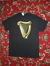 Men's/Women's Black Guinness Harp T-Shirt Size M (Never worn)