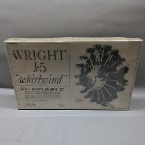 "Willams Bros. 1 1/2"" Wright J-5 Whirlwind Engine Sealed"