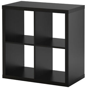 IKEA KALLAX Regal schwarzbraun 77x77x39cm Bücherregal Wandregal Sideboard NEU