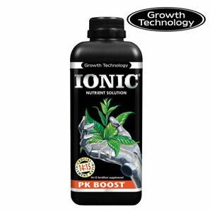 IONIC PK BOOST 1 Litre Plant Flower Bloom Booster Flowering Growth Technology