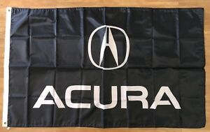 Acura Logo MDX RDX TL TLX 3X5 Garage Wall Banner Flag Man Cave FREE SHIPPING