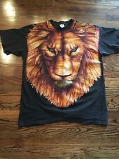 Vtg Lion T-Shirt - X-Large Tennessee River Gold Trinity Products 1995