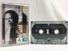 Al Jarreau Best Of Al Jarreau Cassette Tape (Warner Bros. Records 1996)