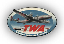 "TWA Airlines Logo Fridge Magnet 3.25""x2.25"" Collectibles (LM14209)"