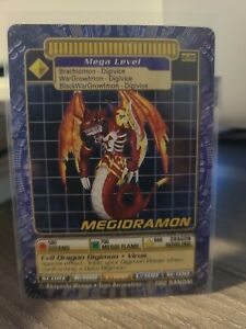 Bandai Digimon Trading Card Series 6 megidramon BO-295