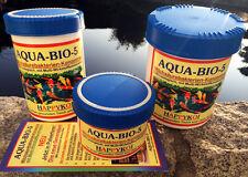 AQUA-BIO-5® Milchsäurebakterien Pulver 1000 ml 150 m³ Koi Teich Filter Bakterien
