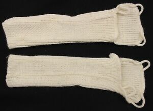 BRITISH ARMY COLD WEATHER WRISTLETS / FINGERLESS GLOVES
