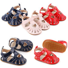 Baby Girl Heart Breathable Anti-skid Sandals Toddler Soft Prewalker Shoes New