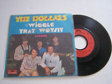 SP 2 TITRES VINYL 45T ,THE HOLLIES , WIGGLE THAT . VG + / EX . POLYDOR 2058 799