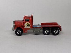 Vintage 1980 Hot Wheels Great American Truck Race Hammer Down Peterbilt - NICE!