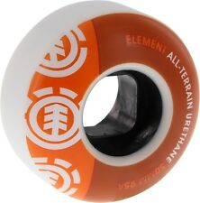 ELEMENT SECTION 50mm WHT ORG/ORG 95a at  Skate Wheels set of 4