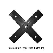 Genuine ATOM Edger Blade set fits All RED AND GREEN PETROL MODELS - 43105, 43089