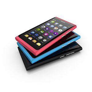 "Original Nokia Lumia N9 N9-00 3G Wifi 16GB 8MP NFC Unlocked Smartphone - 3.9"""