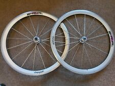 Vintage 700c Campagnolo Shamal C Record Wheels, Stunning Delta / Titanium Era