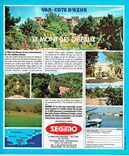 Publicité Advertising 108  1978   Segimo  le Mont des Oiseaux  vAR Cote d'Azur