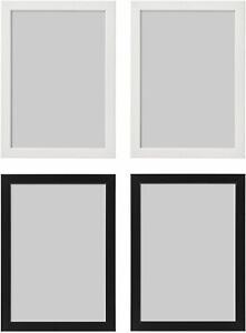 IKEA Fiskbo Photo Frame Picture Document Black White  21x30 (A4) 10x15 13x18