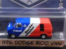GREENLIGHT 1976 DODGE B100 DELIVERY VAN {BLUE COLLAR COLLECTION} 1/64 SCALE