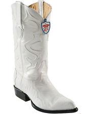 Men's Wild West Genuine Ostrich Leg Cowboy Western Boots J Toe Handmade