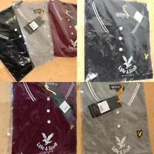 Men's Lyle and Scott Short Sleeve Polo Shirt Summer Sale Free Post Uk