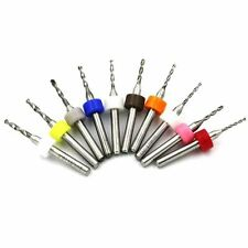 10pcs 3,2 mm acciaio tungsteno Drill Bit Set Kit per PCB MST CNC gioielli stampo # 24
