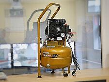 LEISE kompressor ÖLFREI kompakt Aflatek Silent 15L 65dB 90L/Min dental medizin