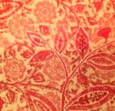 MANUEL CANOVAS Mireval Rose Indien Embroidery Remnant New