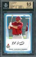 2011 bowman prospects blue #bp99 PAUL GOLDSCHMIDT rookie BGS 9.5 (9.5 9 9.5 9.5)