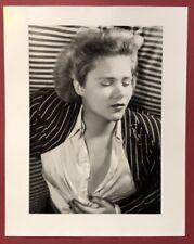 Wols, Frauenbildnis: Denise Kerny, Photographie, aus dem Nachlass