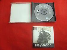 Sony ps1 gioco-RAILROAD TYCOON 2 II GUSCIO + LIBRETTO-come nuovo