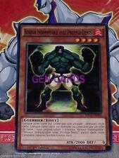 Carte Yu Gi Oh BOXEUR INDOMPTABLE AVEC PROTEGE-DENTS MP14-FR003 x 3