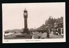 Dorset WEYMOUTH Jubilee Clock Used 1916 RP PPC by Kingsway