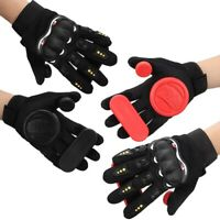 Durable Triple Slider Gloves Sliding Plate Longboard Sports Protective Accessory