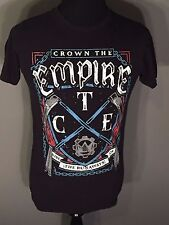 Crown the Empire Rise of the Runaways Rock Band Albulm Music Mens Medium T-shirt