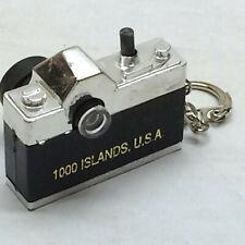 Vintage Souvenir 1000 Islands, USA Key Chain View Camera