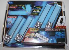 NEON BLUE INTERIOR CAR LIGHTS~ SET OF 4~ PLUGS INTO CIGARETTE LIGHTER~ NEW!