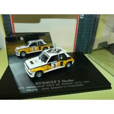 RENAULT 5 TURBO RALLYE TOUR DE FRANCE AUTO 1984 J. RAGNOTTI UNIVERSAL HOBBIES 1: