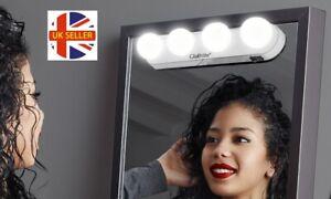 Globrite 4 LED Make Up Mirror Bar with Suction Cups Light Makeup Lights