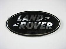 Land Rover LR3 Sport Range Rover Discovery Front Grille Emblem Black Oval Badge