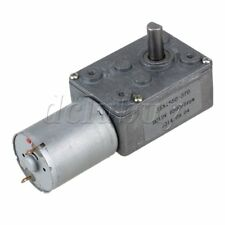 12V 5rpm High Torque Turbo Worm Gear Box Geared Electric Drive Motor for DIY