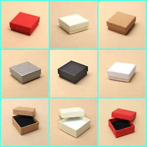 12 x  Small Jewellery Boxes/ Ring/ Earring/ Wedding Favours/ Gifts/ Crafting etc