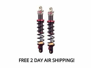 Elka Stage 1 Rear Shocks Suspension Pair Polaris Scrambler 850 1000 XP