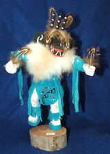 "Navajo Kachina 3 Horn 10"" Authentic Native American FREE SHIPPING #89"