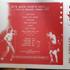 ac/dc it´'s only rock´n´roll rare test press cover    ONLY COVER