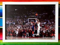 ✺Framed✺ DAMIAN LILLARD Portland Trail Blazers NBA Poster - 62cm x 44.5cm x 3cm