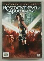 "PRL) DVD VIDEO ""RESIDENT EVIL APOCALYPSE"" DV09920 SPECIAL EDITION FILM MOVIE"
