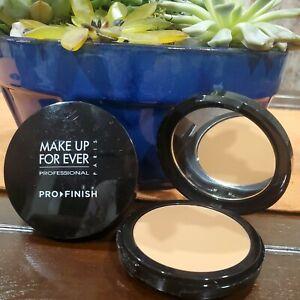 Make Up For Ever Pro Finish Multi-Use Powder Foundation 165 Pink Camel 10 g.🆕️✅