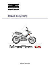 SACHS MADASS 125 REPAIR SERVICE WORKSHOP MANUAL PDF EMAIL