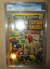 Marvel comics Tales of Suspense 60 Captain America Iron man 7.0 CGC